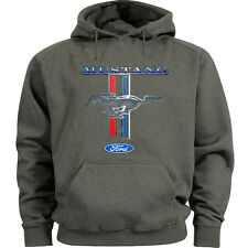 Ford Mustang hooded sweatshirt Men's size ford hoodie mustang pony tri bar