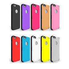 Fashion Silicone Holster Combo Phone Holder Skin Case Cover For iPhone 6S 4.7""
