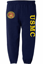 USMC sweatpants Men's size us marines sweats marine corps sweat pants navy blue