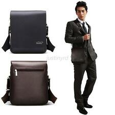 Hot Mens Genuine Leather Handbag Briefcase Laptop Shoulder Bag Messenger Bag J36