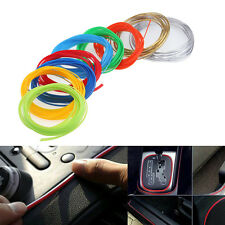 DIY 5M Dream Car interior Decoration Moulding Trim Strip Line Fashion 9 Colors