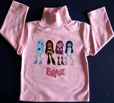 Bratz Tshirt 100% cotton t-shirt skivvie brand new girls Top