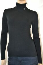 Ralph Lauren Black Ribbed Turtleneck Sweater NWT