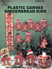 Gingerbread Kids ~ Gingerbread Figures Tissue & More plastic canvas patterns