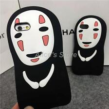 1x 3D Cartoon No Face Ghost Silicone Soft Case Cover for Apple iPhone 6 6plus 5S