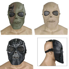Amry Tactical Combat Protective Full Face Skull Mask Paintball Airsoft COSPLAY
