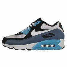 Nike Air Max 90 Essential Squadron Blue Mens Running Shoes Sneakers 537384-414
