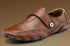 New Fashion Mens Casual  Strap PU Leather Driving Moccasins Sneaker Shoes.