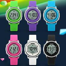 Fashion SKMEI Children LED Sports Watch Silicone Jelly Waterproof Boy Wristwatch
