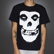 OFFICIAL The Misfits - Fiend Skull and Logo T-shirt NEW Licensed Band Merch ALL