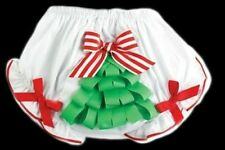 MUD PIE ORNAMENT AND TREE BLOOMER DIAPER COVER NEW