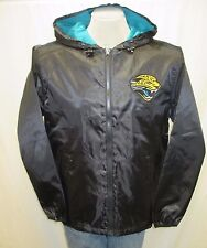 Jacksonville Jaguars Mens M L XL XXL Black Zip up Windbreaker Jacket NFL A7TLB
