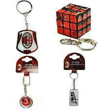 OFFICIAL AC MILAN FOOTBALL CLUB - KEYRINGS (Crest,Spinner,Metal Key Ring) (Gift)