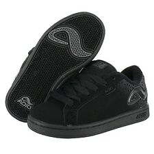 *New Boys Adio Eugene RE2 Casual/Skate Shoes - Black/Charcoal - 732296-06Z*