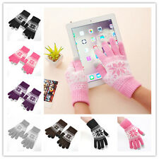 Magic Hot Touch Screen Glove Smartphone Texting Stretch One Size Winter Knit New