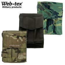 Web-Tex Folding Notepad Holder Zip Compartments Cordura Multicam Black DPM