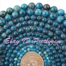"""Natural Stones Blue Kyanite Gemstone For Jewelry Making Spacer Beads Strand 15"""""""