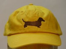DACHSHUND WOMEN MEN SOLID COLOR DOG BASEBALL CAP - Price Embroidery Canine Hat