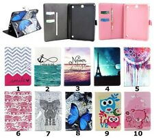 Magnetic Flip Stand Leather Wallet Pouch Case Cover Skin For iPad Samsung Tablet