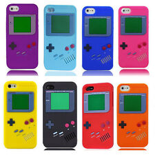 Retro Game Boy Player Soft Silicone Case Cover for Apple iPhone 5 5S 6 6S  4 4S