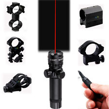 Tactical Red Dot Laser Sight+ Remote Pressure Switch for Rifle Shutgun W/Mount