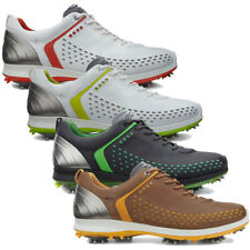 Ecco 2015 Mens Biom G2 Waterproof Hydromax Yak Leather Lightweight Golf Shoes