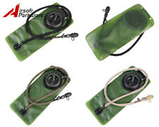 Tactical Hiking Camping Outdoor 2.5L Hydration Water Bladder Pouch Bag w/ Switch