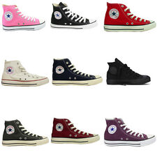 Converse All Star HI Top Canvas Pumps High Trainers Shoes Mens Womens Trainer