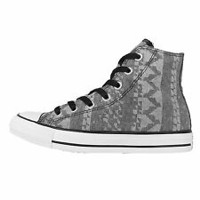 Converse Chuck Taylor All Star Print Grey White Womens Casual Shoes 549650C