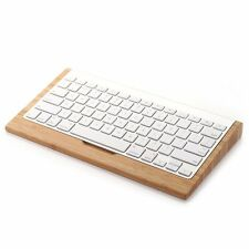 Wood Stand Dock Holder For Apple iPad Mac Macbook PC Bluetooth Wireless Keyboard