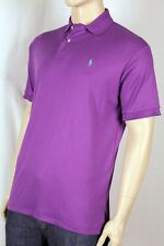 Polo Ralph Lauren Purple Interlock Polo Shirt Green Pony NWT