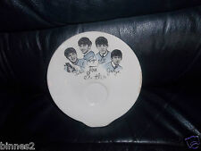 THE BEATLES HANELY WASHINGTON POTTERY 1960's PLATE SAUCER  MAKERS CREST REVERSE