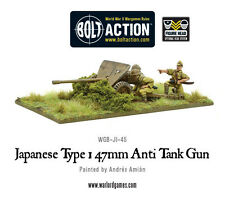 Warlord Games Bolt Action BNIB Japanese Type 47mm Anti Tank Gun WGB-JI-45