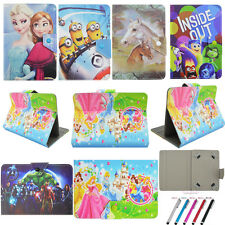 Newest Fold Flip Stand PU Leather Cover Case For Universal 7~7.9'' Tablet PC MID