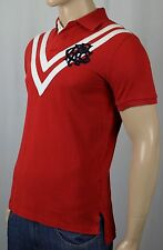 Polo Ralph Lauren Red Custom Fit Crest Shirt Rugby NWT