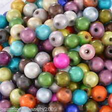 Wholesale HX Mixed Miracle Acrylic Round Spacer Beads 8mm