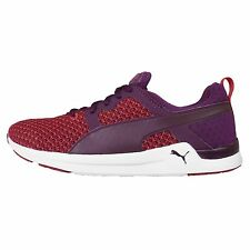 Puma Pulse XT Knit Wns Red Purple Womens Running Shoes Sneakers Runner 188583-03