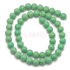 """Natural Coral Round Gemstone Loose Beads 15"""" Strand Jewelry Findings DIY"""