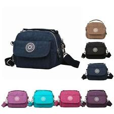 Womens Girls Shoulder Bags Waterproof Nylon Messenger Bags Crossbody Satchel Bag