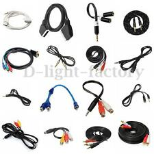 Multi Car Aux Auxiliary Cord Stereo Audio Charger Cable Connecter for Phone iPod