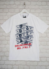 Actual Fact Wu Tang Clan Dollar Bill ODB Hip Hop White Crew Neck Tee T-shirt