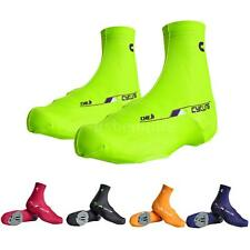 Bicycle Bike Cycling Shoe Covers Protector Zippered Overshoes Sportwear QN13