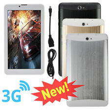 """Unlocked 7"""" 3G + WIFI Android 4.4 Tablet Phone Dual Core 512M+8G GSM Phablet"""