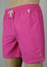Polo Ralph Lauren Pink Swim Shorts Trunks Green Pony NWT