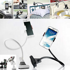 5 Colors Flexible Long Arms Mobile Phone Desktop bed Car Lazy Stand Clip Holder