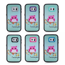 I Miss You Owl Shockproof Rugged Hard Cover Case For Samsung Galaxy iPhone