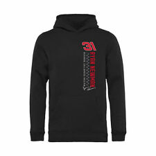 Ryan Newman Youth Black Finish Line Pullover Hoodie