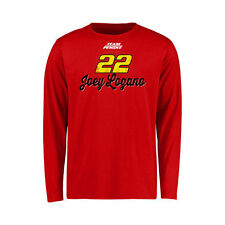 Joey Logano Youth Red Race Day Long Sleeve T-Shirt