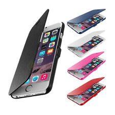New Magnetic Flip Leather Hard Skin Pouch Wallet Case Cover For Apple iPhone
