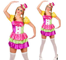 Clown Costume Ladies Sexy Cute Circus Clowns Fancy Dress Outfit